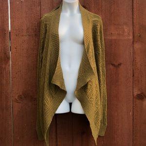 Banana Republic knit open cardigan waterfall